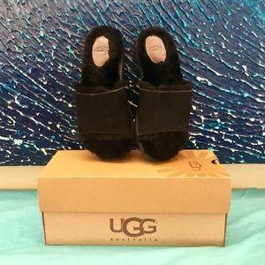 UGG Fluff Slides - Black